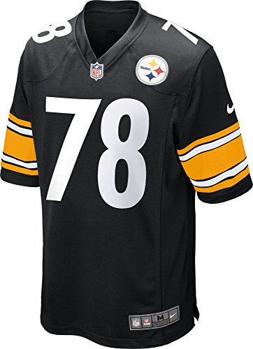 check out fd3cf 1d45e Nike NFL Pittsburgh Steelers Game Jersey Alejandro Villanueva #78