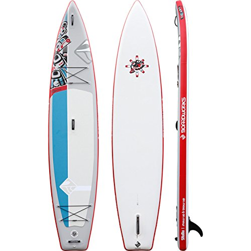 Boardworks SHUBU Raven 12'6' Inflatable Stand-Up Paddle Board (SUP) by Boardworks
