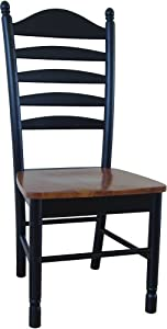 Madison Park Ladder Back Chair W Solid Wood Seat   Set Of 2