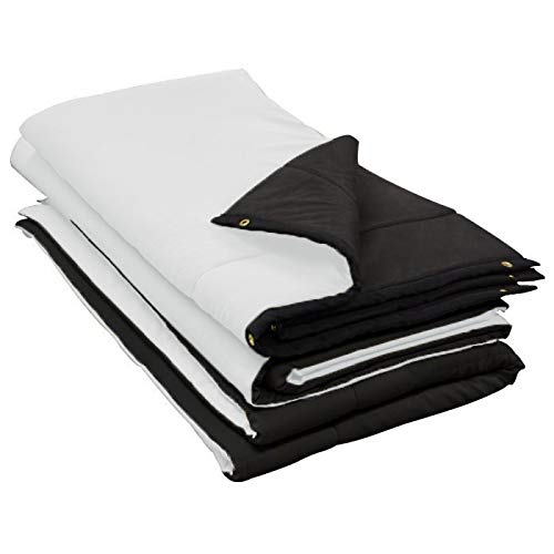 Audimute Sound Absorption Sheet Sound - Dampening Blanket - Soundproofing Sheet (White)