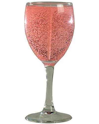 Gellite Candles Wine Glass Candle Sangria (Burgundy) [Kit...