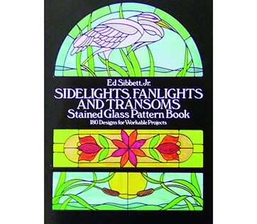 Stained Glass Fish Patterns - Sidelights, Fanlights, Transoms - Stained Glass Pattern Book