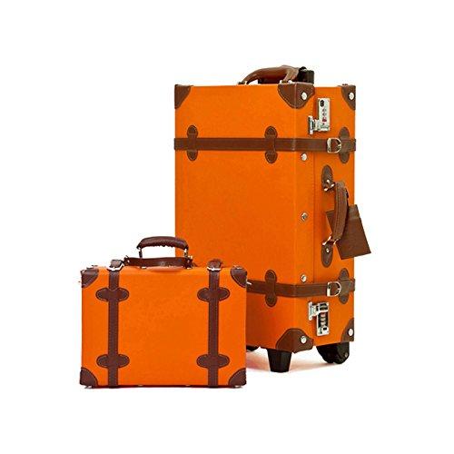 EDDAS ETHOS PVC Vintage & Retro Style Carry-On Luggage and ...