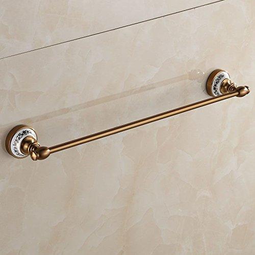 Znzbzt ZnzbztSpace aluminum antique copper-colored single lever bathroom towel rack hardware hang porcelain retro towel rail