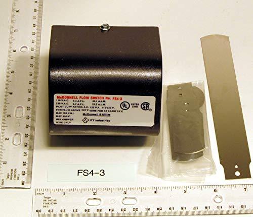 Mcdonnell & Miller FS4-3 Nema 1 Spdt General Purpose Liquid Flow Switch 1