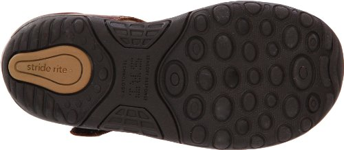 Stride Rite SRTech Harper Fisherman Sandal (Infant/Toddler), Brown, 3 W US Infant - Image 3