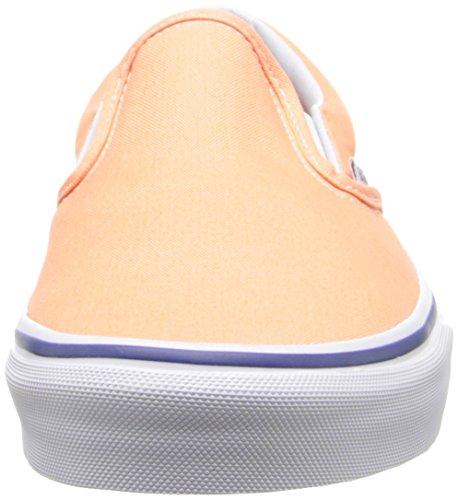 True U Classic Orange unisex Vans Sneakers Arancione White Canteloupe PZOqW0wU