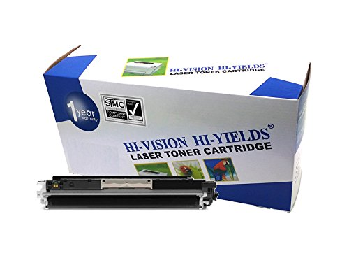 HI-VISION HI-YIELDS Compatible Toner Cartridge Replacement for Hewlett-Packard (HP) 130A CF350A (Black)