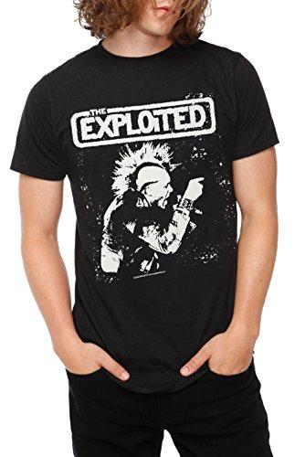 The Exploited Wattie T-Shirt 4XL Size : XXXX-Large