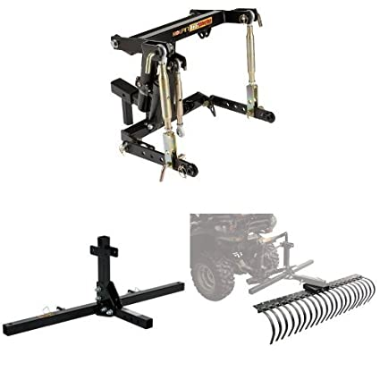 amazon com kolpin 3 point hitch system with 48 inch accessory tool