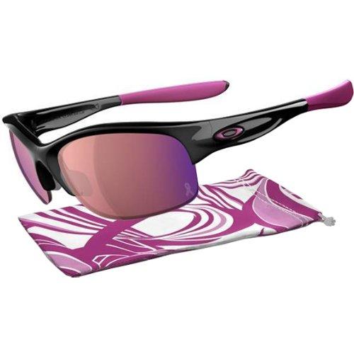 Oakley Sunglasses Women (Oakley Breast Cancer Commit SQ,Polished Black w/G30 Iridium)