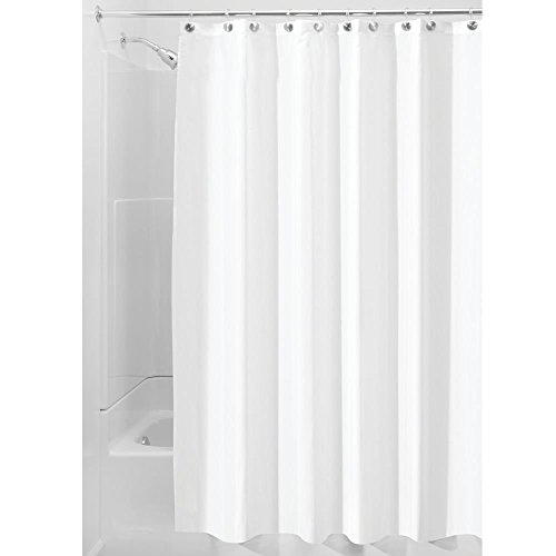 Waterproof Mold and Mildew-Resistant Fabric Shower Curtain, 72-Inch , White - Shower curtain - shower curtain liner - baby shower curtain - shower curtain set
