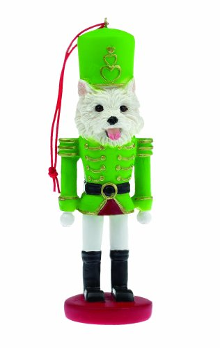 E&S Pets 35358-45 Soldier Dogs Ornament (Ornaments Westie)