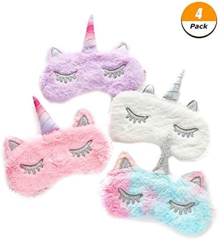 Unicorn Sleep Eye Mask Shade Cover Plush Women Girl Blindfold High Quality