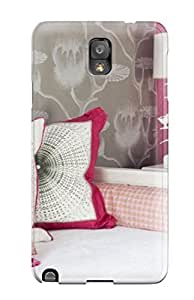 Durable Protector Case Cover With White Daybed With Hot-pink Wall And Pops Of Color Hot Design For Galaxy Note 3