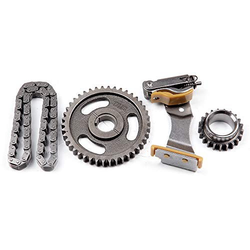 Ocpty Timing Chain Kit Tensioner Cam Sprockets Fits For 90 08 Lincoln Mercury Ford Mustang 4 2l 3 8l Ohv C 3086k