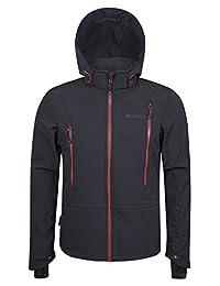 Mountain Warehouse Escalade Softshell Mens Ski Jacket Grey Large