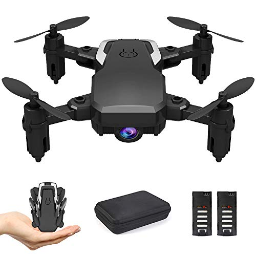 OBEST Mini Drone with Camera 1080P for Kids Beginners, WiFi FPV Live Video, VR Piggyback, Trajectory Pointing…