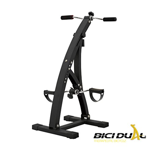 Bicidual - Low Impact Total Body Exerciser & Physiotherapy Machine. Workout your Arms and Legs and Enhance your Blood Circulation with this Indoor Bike while Sitting in the Comfort of your Home