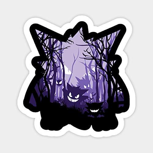 Gengar Spooky Vinyl Sticker