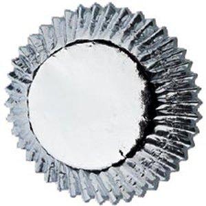 Wilton 331526 Mini Baking Cups-Bon Bon-Silver Foil 36-Pkg