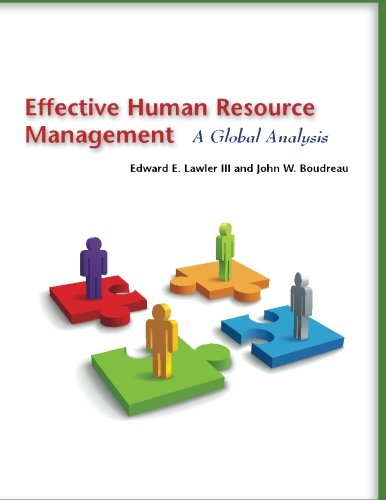 Effective Human Resource Management: A Global Analysis (Stanford Business Books (Paperback))