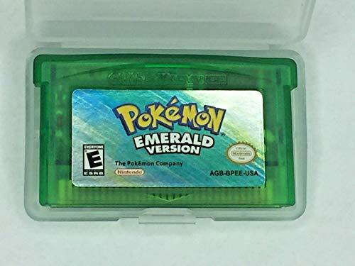 (Pokemon Emerald Game Boy Advance Video Game Cartridge)