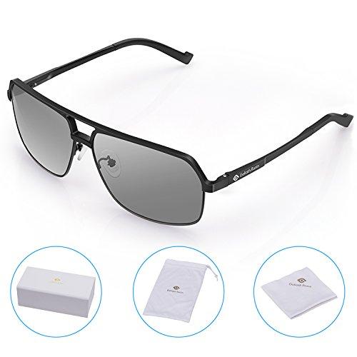 3133c0f7e9 Goliath Ronin Classic Square Vintage Driving Aviator Sunglasses for mens