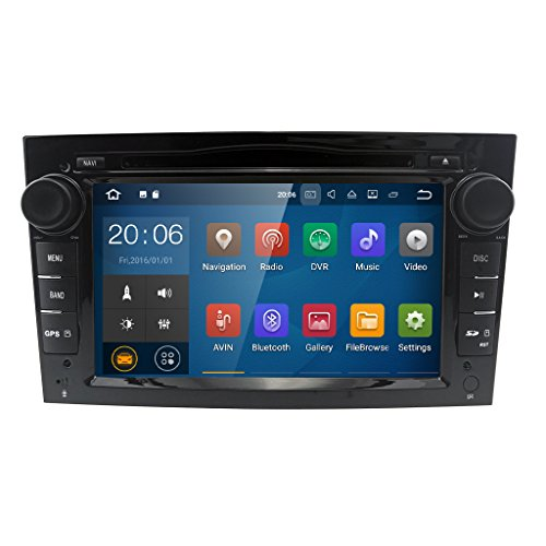 Android 7.1 Quad Core 7 inch Car Audio Stereo Double Din In Dash for Opel...