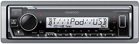 Does NOT Play Cds Kenwood KMR-M328BT Marine Digital Media Receiver with Alexa and Built in Bluetooth