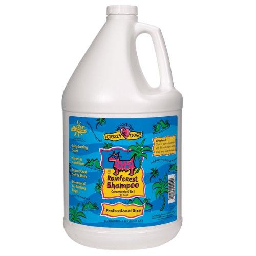 Crazy Dog Shampoo, Rainforest, 1-Gallon, My Pet Supplies