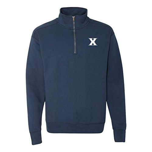 NCAA Primary Logo, Team Color (1/4) Quarter Zip Sweatshirt, College, University