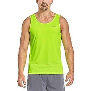 BALEAF Men's Athletic Tank Top Quick-Dry Running Shirt