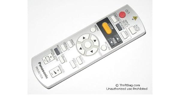 Panasonic n2qayb000311 PT-F300 PT-F300U Proyector mando a ...