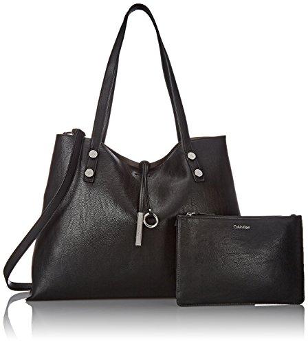 À Femme Klein Noir Porter Noir Pour Reversible Tote gris Calvin Sac L'épaule XTxwYT1