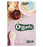Organix Banana & Plum Porridge 200G - Pack of 2