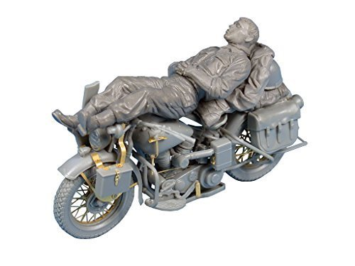 MiniArt Models Rest on Motorcycle Model Kit (1 35 Scale) by MiniArt Models