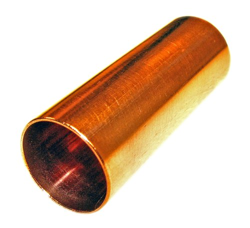 Polished Copper Pipe Guitar Slide (2.25 inch) (Slide Pipe)