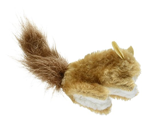 KONG Refillable Catnip Squirrel Cat Toy