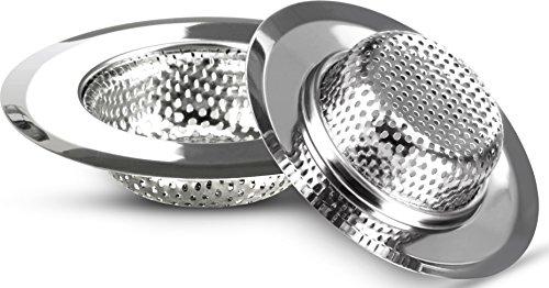 Sink Strainer - Stainless Steel - Set of 2 - ...