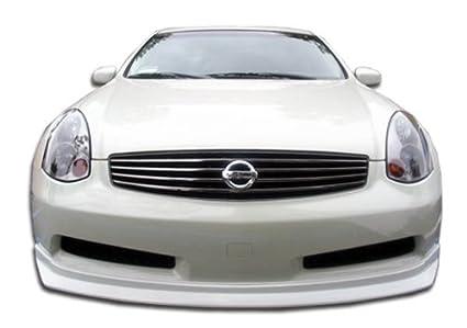 Amazon.com: 2003-2007 Infiniti G Coupe G35 Duraflex D-Spec Front Lip ...