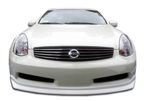 Duraflex Replacement for 2003-2007 Infiniti G Coupe G35 D-Spec Front Lip Under Spoiler Air Dam (non sport) - 1 Piece