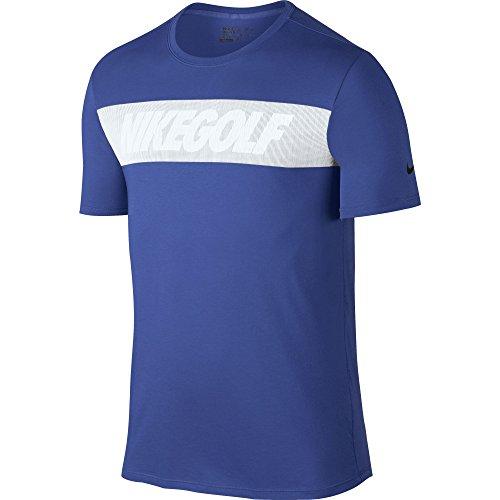 Nike Men's Graphic Golf T-Shirt (Game Royal) CLOSEOUT 802923-480 (Medium)