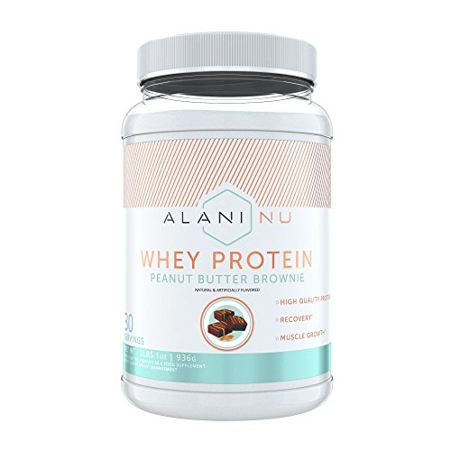 Alani Nu 100% Whey Protein Powder, Peanut Butter Brownie, 30 Servings