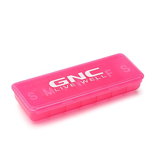 GNC 7 Day Pill Organizer 1 Item Colors may vary