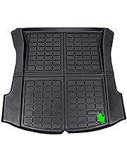 Trunk Matte TPE Pad, for Tesla Model 3 Matte Accessories Trunk Cargo Tray Floor Mat with Model3 Logo Trunk Mats Upgrade Model 3 2021