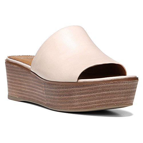 Franco Sarto Womens Ileen Slide Sandal Cappuccino Leather Nc9e8q