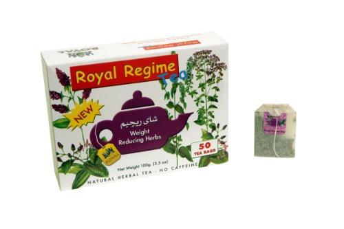 Royal Regime Weight Loss Diet Slimming 50 Tea Bags (Pack of 3)