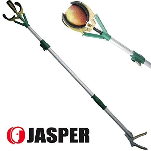 jasper-54-81-675-feet-auminum-3-sections-telescopic-fruit-tree-multi-function-picker