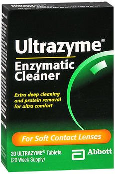 Ultrazyme Enzymatic Cleaner Tablets 20 ea (Pack of 3)
